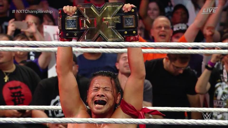 Shinsuke Nakamura wins NXT Championship - NXT Takeover Brooklyn II