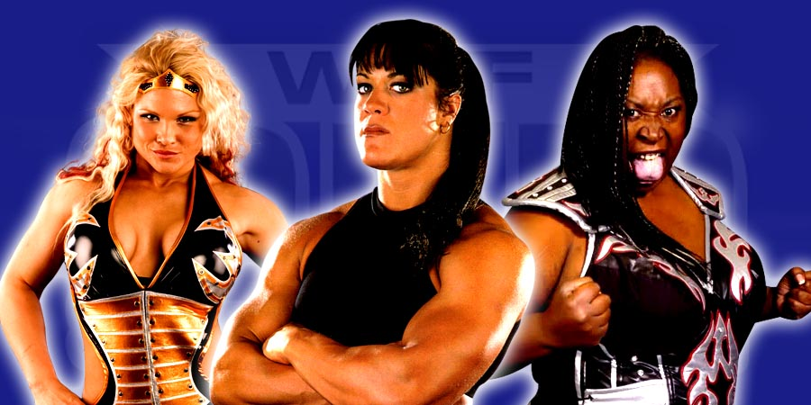 The Strongest Women of Wrestling