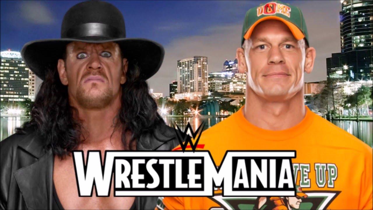 The Undertaker vs. John Cena - WrestleMania 34