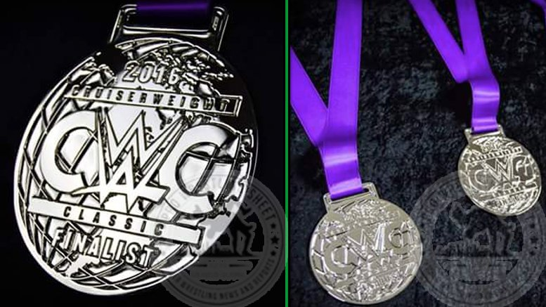WWE Cruiserweight Classic Finalists To Receive Medals - WWE CWC Medals