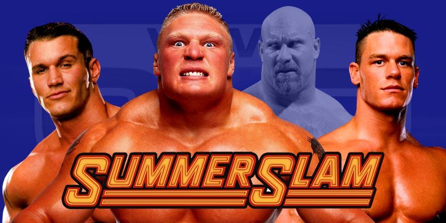 WWE SummerSlam 2016 Results - Brock Lesnar vs Randy Orton, John Cena vs AJ Styles, 1st Ever Universal Champion Crowned