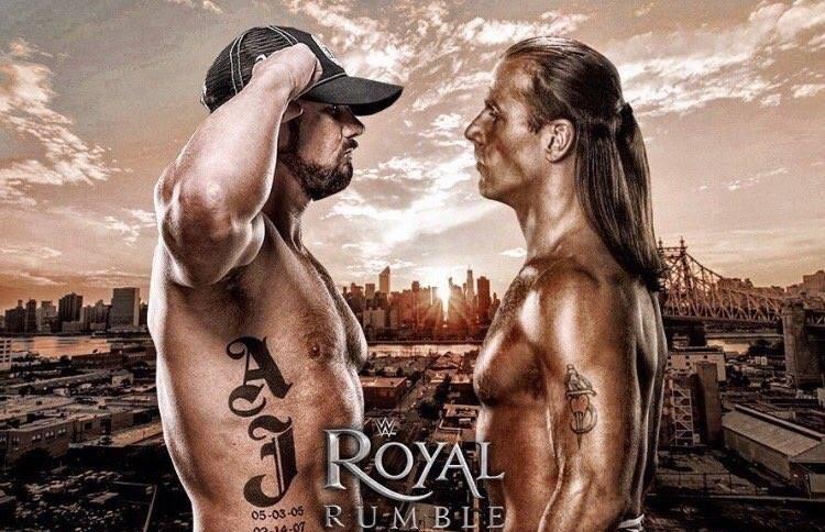 AJ Styles vs. Shawn Michaels - WWE Royal Rumble 2017
