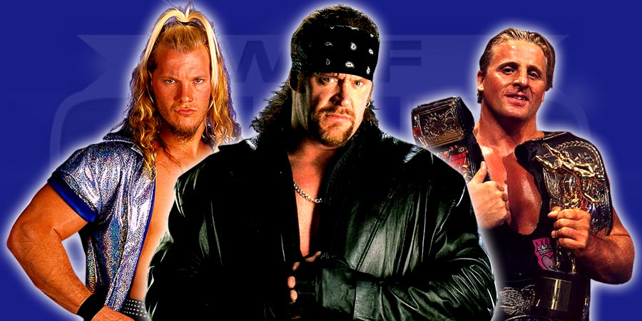 Chris Jericho, The Undertaker, Owen Hart - Cancelled WWF WWE Moments