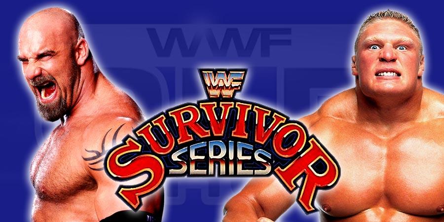 Goldberg vs. Brock Lesnar - Survivor Series 2016