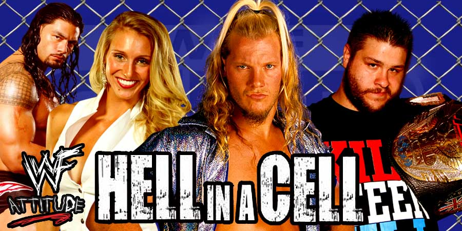 Hell in a Cell 2016 Results - Roman Reigns vs. Rusev, Kevin Owens vs. Seth Rollins, Sasha Banks vs. Charlotte (1st Ever Women's Hell In A Cell Match)