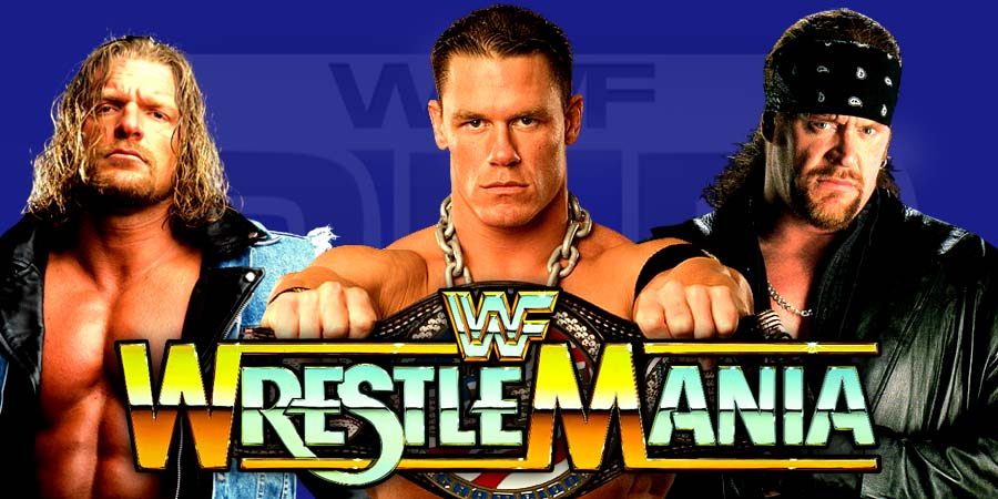 The Undertaker, John Cena & Triple H - WrestleMania 33 (Possible WrestleMania 33 Matches)