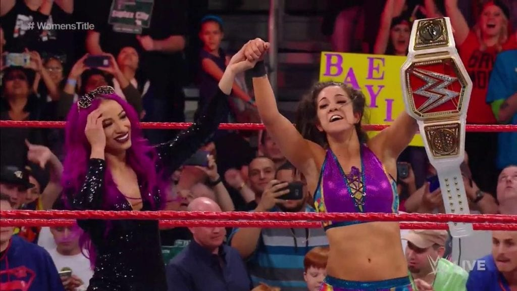 Bayley wins Raw Women's Title on Raw - February 13, 2017