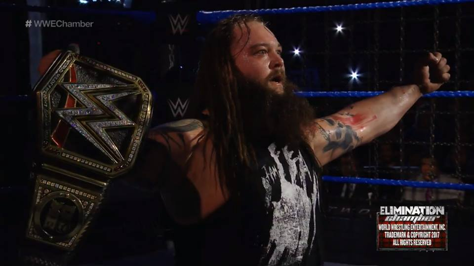 Bray Wyatt wins WWE Title