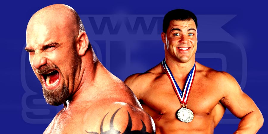 Goldberg vs. Kurt Angle