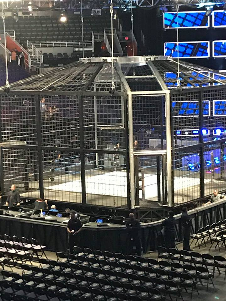 New Elimination Chamber 2017 Structure