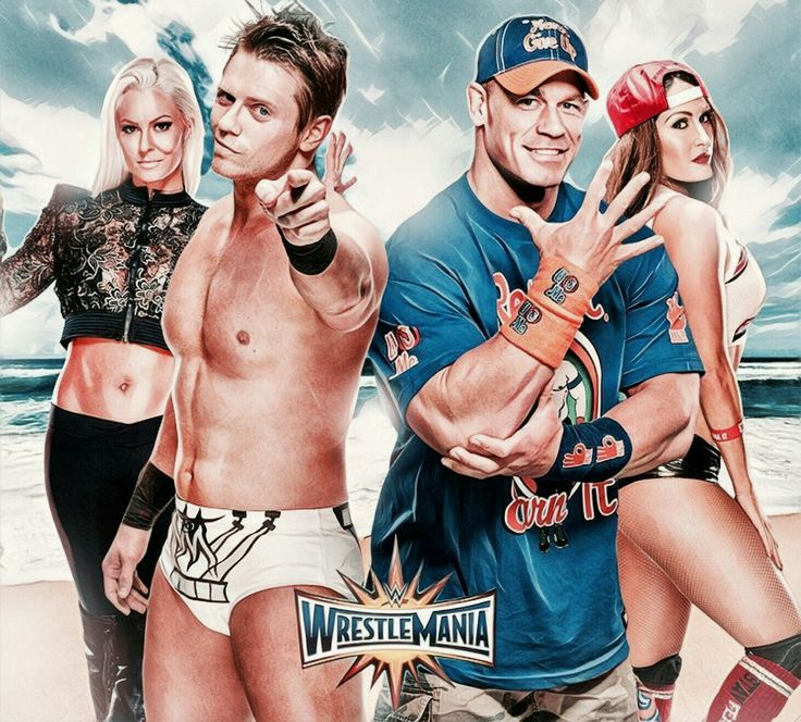 The Miz & Maryse vs. John Cena & Nikki Bella - WrestleMania 33