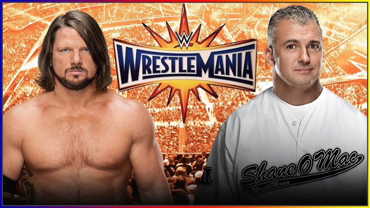 AJ Styles vs. Shane McMahon - WrestleMania 33
