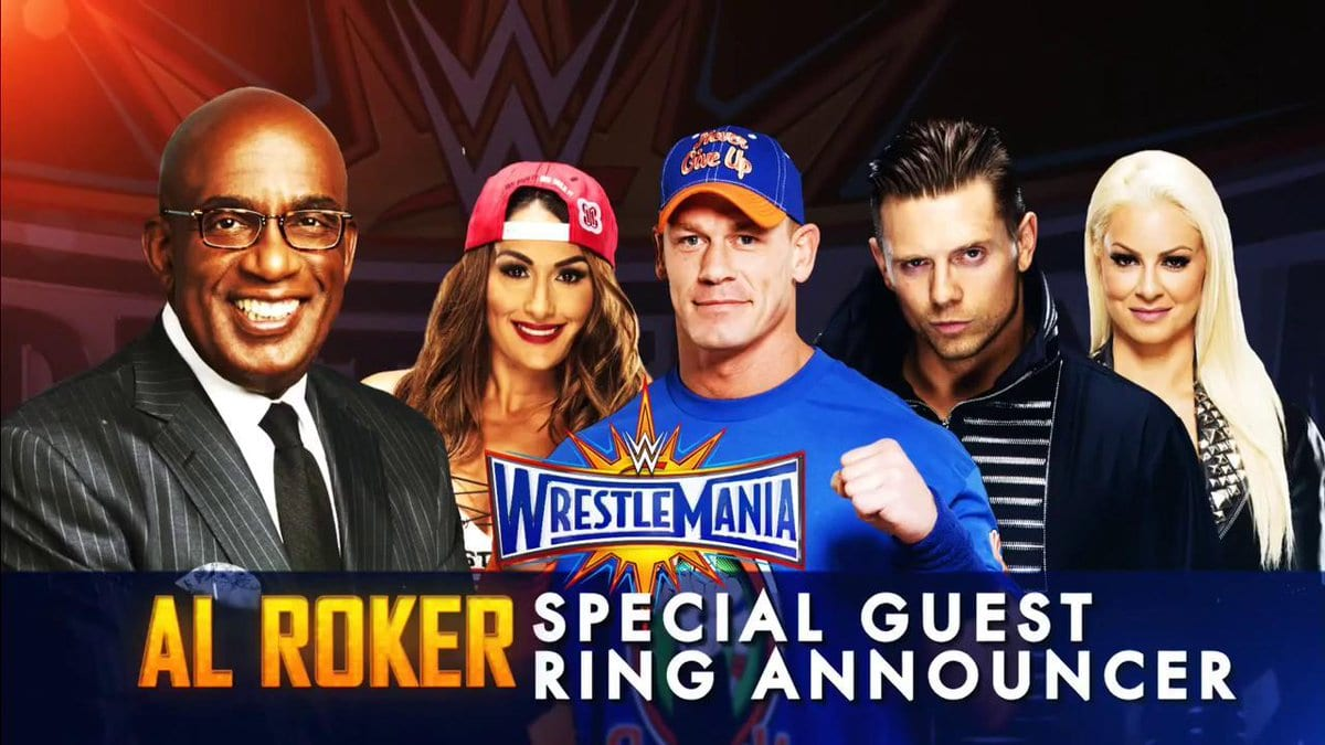 Al Roker to be the guest ring announcer for John Cena's WrestleMania 33 match
