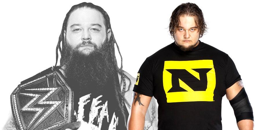 Bray Wyatt WWE Champion & Husky Harris