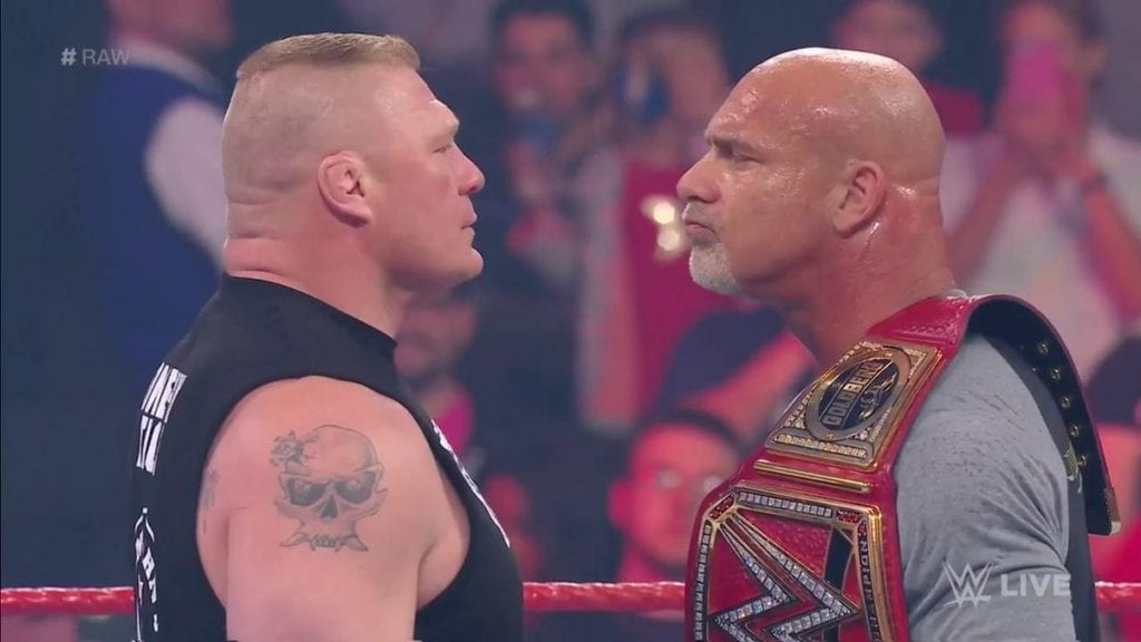 Brock Lesnar vs. Goldberg - WWE Universal Championship at WrestleMania 33