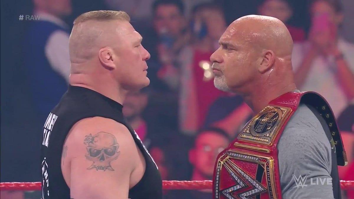Brock Lesnar vs. Goldberg - WWE Universal Championship at WrestleMania 33