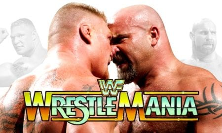 Brock Lesnar vs. Goldberg - WrestleMania 33 (WWE Universal Championship Match)