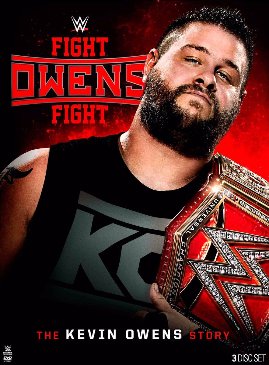 Fight Owens Fight - The Kevin Owens Story DVD Blu-Ray Cover