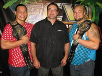 IRS with Bo Dallas & Bray Wyatt in FCW