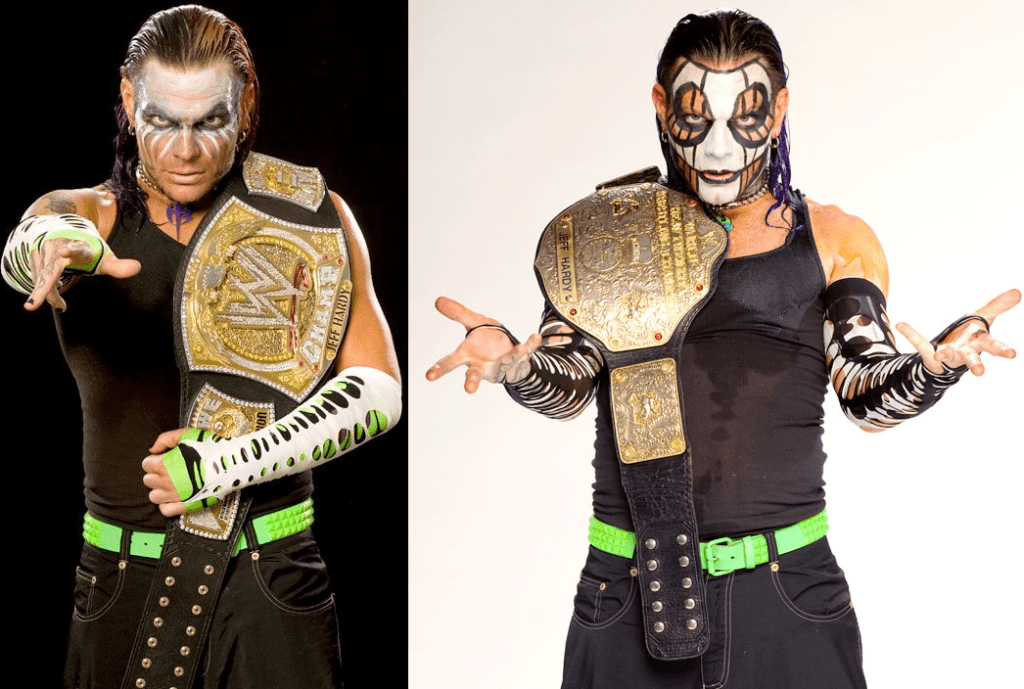 Jeff Hardy WWE Champion - Jeff Hardy World Heavyweight Champion