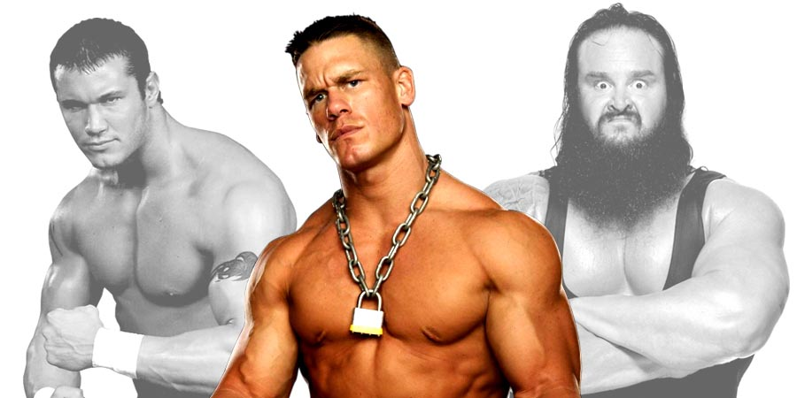 John Cena, Randy Orton & Braun Strowman
