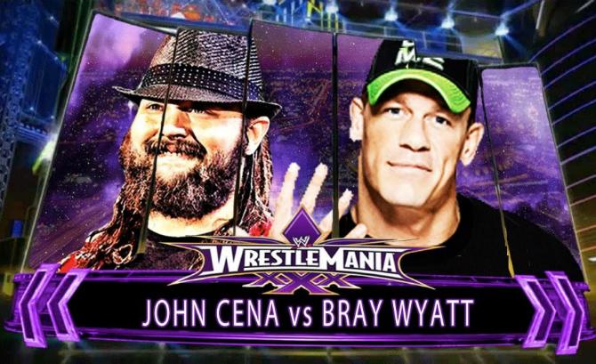 John Cena vs. Bray Wyatt - WrestleMania 30