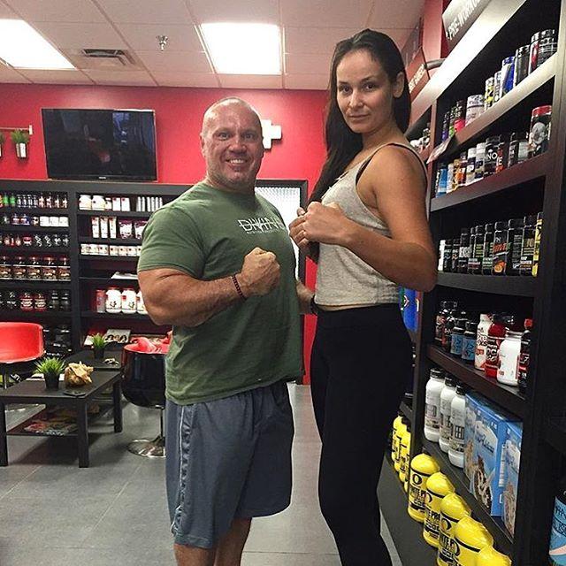 Katya Dominator Kavaleva attends WWE tryout