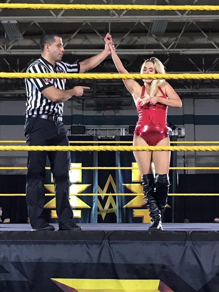 Lana returns to in-ring action at NXT Live Event in Largo, FL - 4
