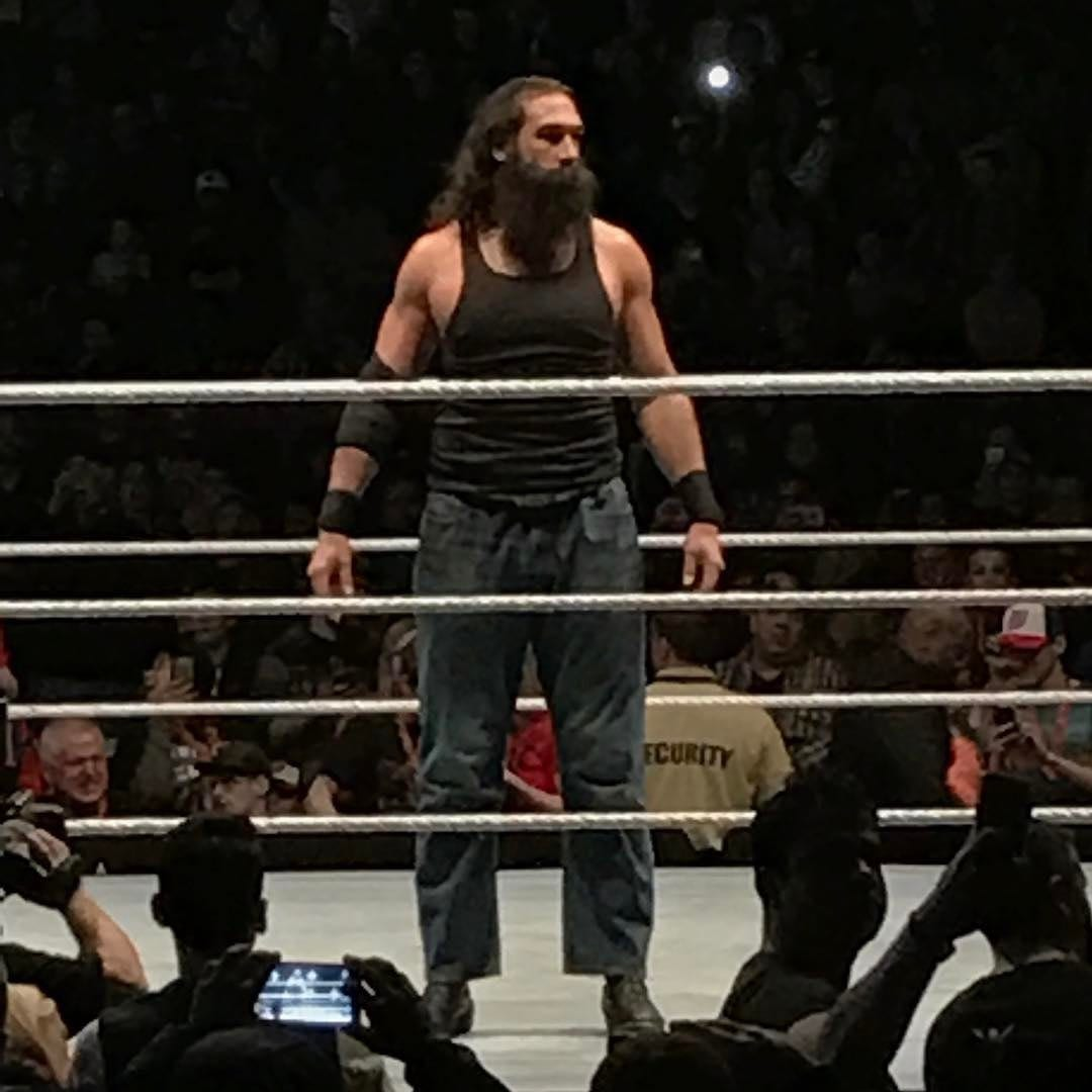 Luke Harper changes his look at a WWE Live Event - March 19, 2017