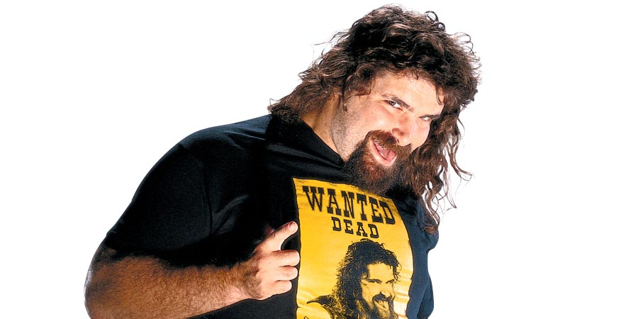 Mick Foley Mankind Dude Love Cactus Jack