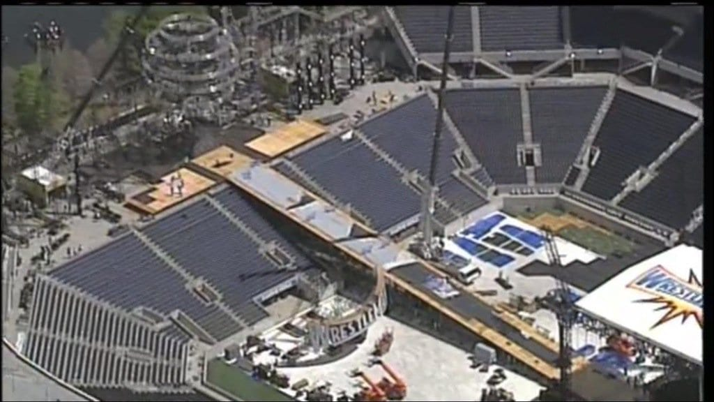 New Photos of the WrestleMania 33 set - 1