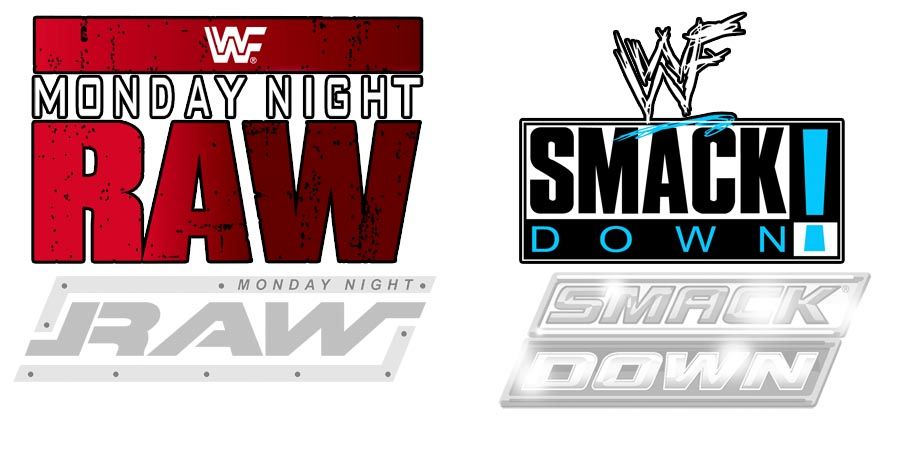 RAW SmackDown SD Logos