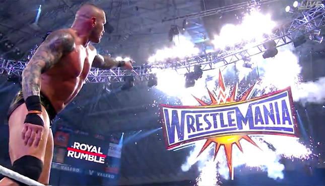 Randy Orton wins the Royal Rumble 2017 match