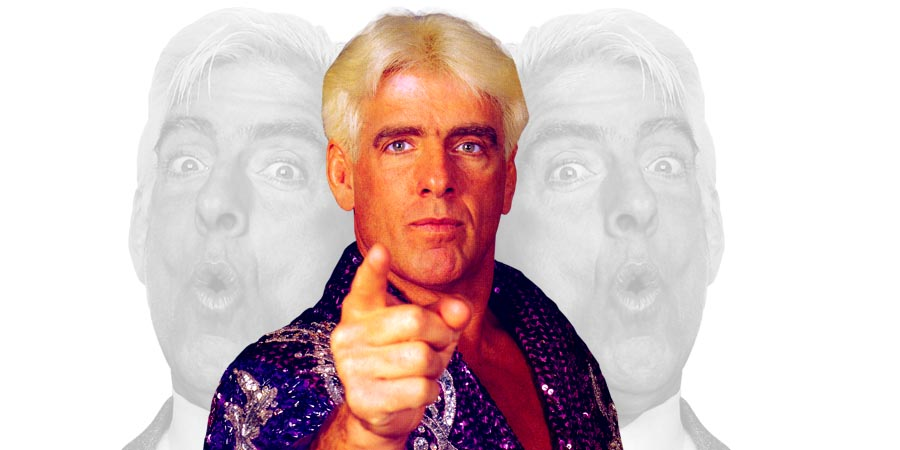 ric flair recalls throwing away his rolex while being drunk