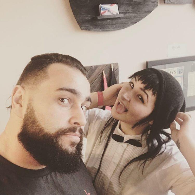 Rusev New Haircut 2017