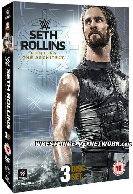 Seth Rollins - Building The Architect DVD Poster