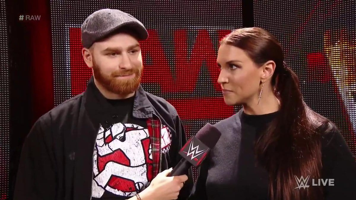 Stephanie McMahon puts Sami Zayn's career on the line in a No DQ match against Kevin Owens on Raw before WrestleMania 33