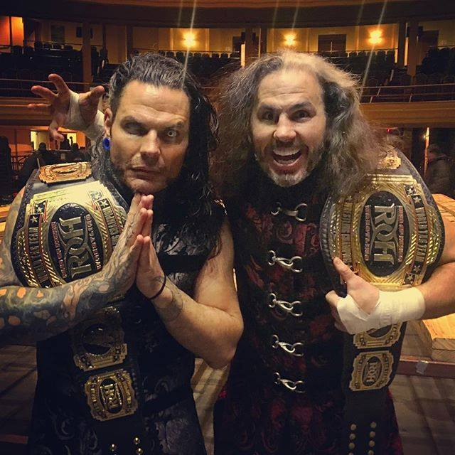 The Hardy Boyz win ROH Tag Team Titles