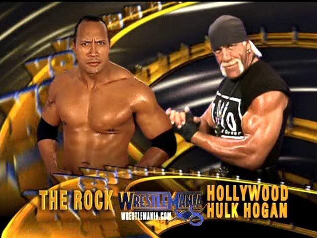 The Rock vs. Hollywood Hulk Hogan - WrestleMania 18