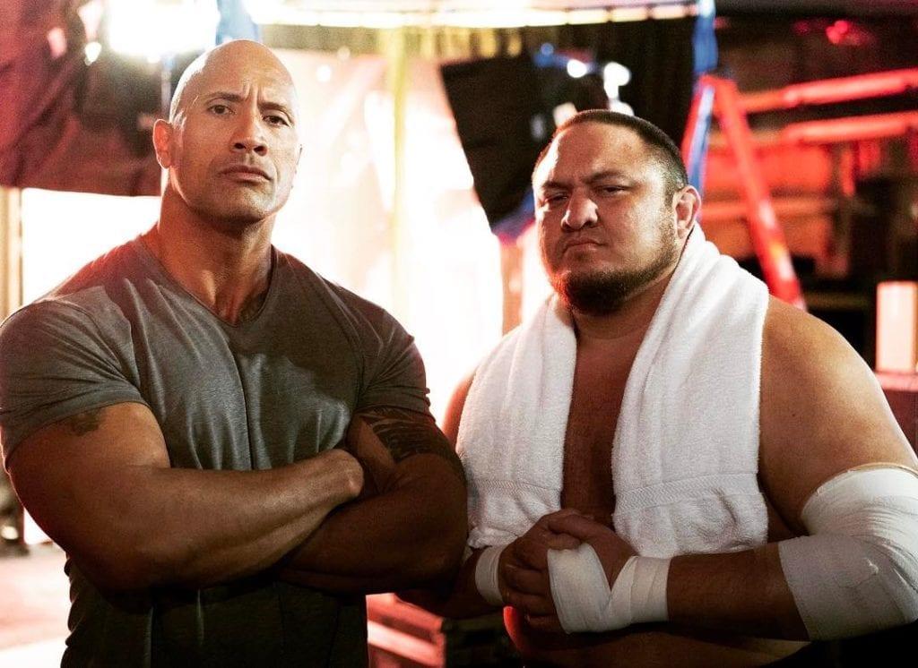 The Rock vs. Samoa Joe