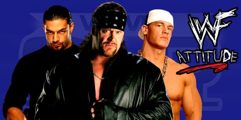 The Undertaker, John Cena & Roman Reigns