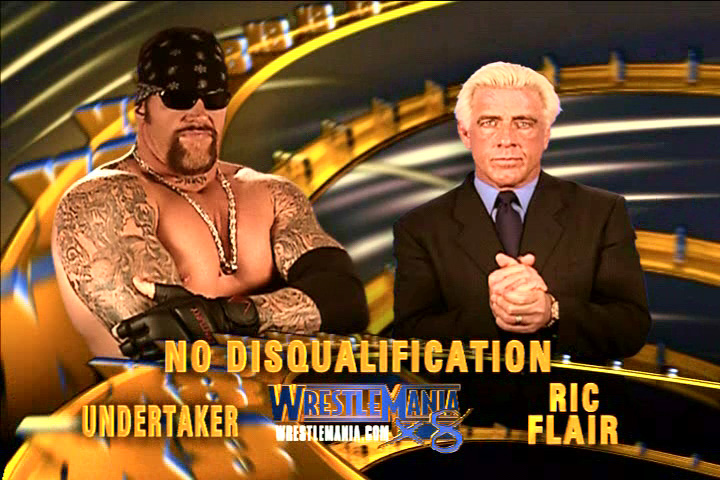 The Undertaker vs. Ric Flair - WrestleMania 18