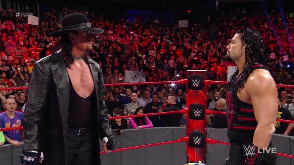 The Undertaker vs. Roman Reigns Official For WrestleMania 33