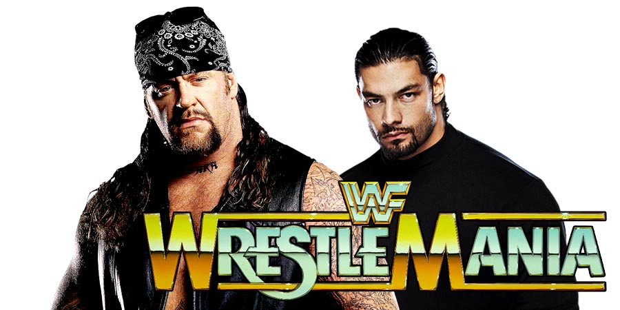 The Undertaker vs. Roman Reigns - WrestleMania 33