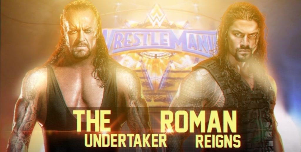 WrestleMania 33 - The Undertaker vs. Roman Reigns