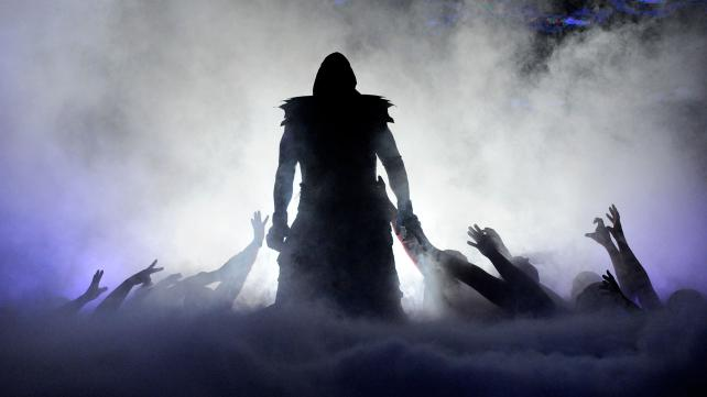 The Undertaker's entrance at WrestleMania 29