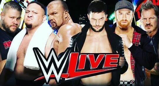 Triple H, Samoa Joe & Kevin Owens vs. Finn Balor, Sami Zayn & Chris Jericho