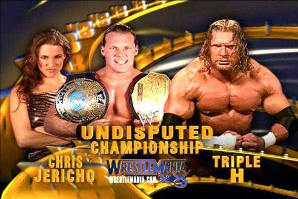 Triple H vs Chris Jericho - WrestleMania 18