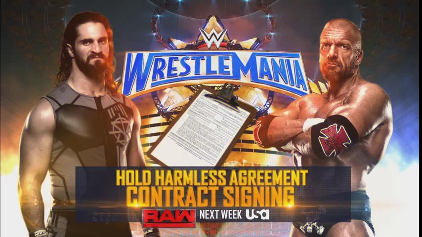 Triple H vs. Seth Rollins At WrestleMania 33 Will Be A Non-Sanctioned Match