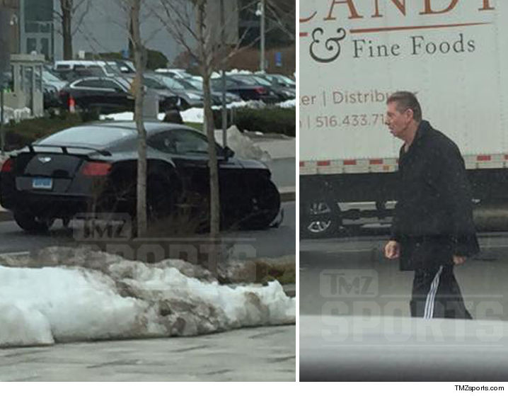 Vince McMahon involved in a car accident - 1